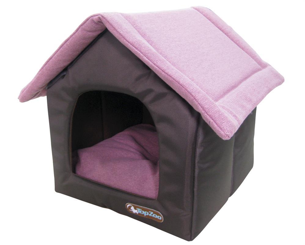 couchage grande maison canevas rose dahlia pour chien. Black Bedroom Furniture Sets. Home Design Ideas