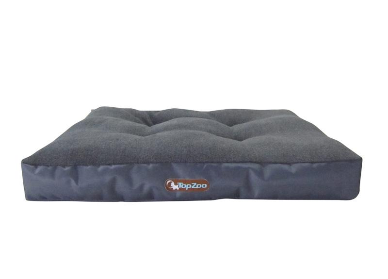 couchage relax hirondelle gris matelas solide pour chien. Black Bedroom Furniture Sets. Home Design Ideas