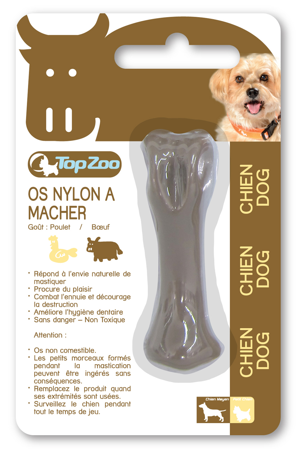 CHEWY BONE OS NYLON